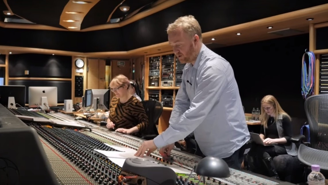 AIR Studios London - Recording Session