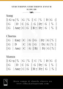 Sthuthipin Sthuthipin Ennum - Free Chords Sheet